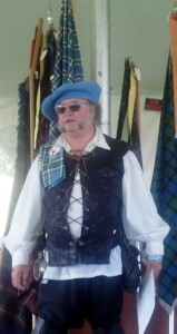 Colorado Commissioner Michael Thompson officiated at the Kirking of the Tartans Sunday morning.